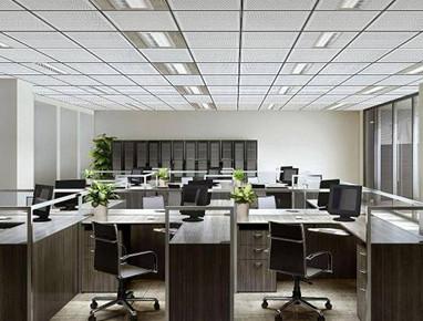 玻璃纤维吸声天花板-平板
